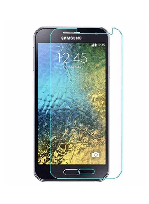 Screen Guard Galaxy E7 Kırılmaz Cam Renksiz